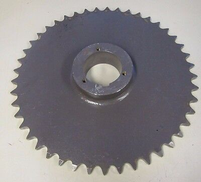 "Browning 80Q45 Chain # 80 45 Teeth 1"" Pitch 15"" O.d. Steel Single Row Sprocket"