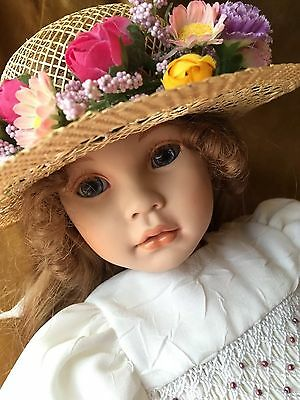 Pauline's© Limited Edition Porcelain Doll Mikayla Excellent Rare W/Tags No Box