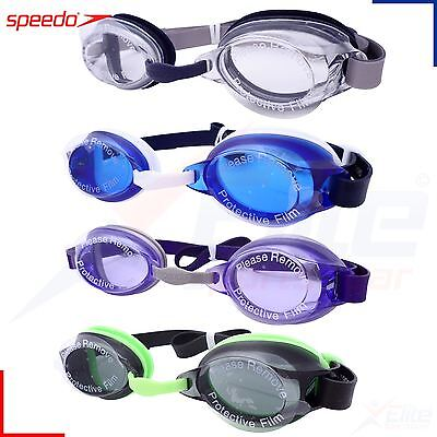Speedo Jet Senior Adult Swimming Goggles - UV Anti Fog Swim Dive Underwater