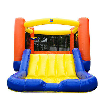 JumpOrange Slide Wet / Dry Combo Bounce House