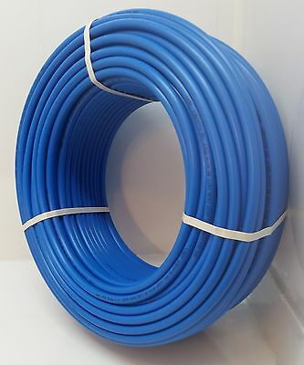 """100"""" 2"""" Non Oxygen Barrier Blue PEX tubing for heating and plumbing"""