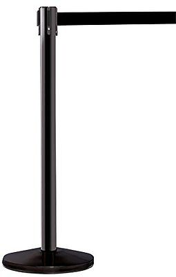 ComeAlong Industries Crowd Control Black Anti Scuff Pole with 8.5 Heavy Duty of