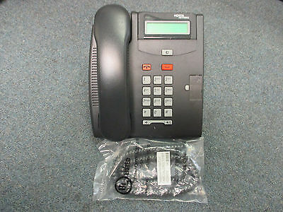 Nortel Norstar T7100 Charcoal 1 Button Display Speaker Telephone NT8B25AABL