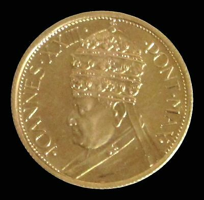 1962 Gold Vatican City Second Vatican Council Proof Medal Pope John Xxiii