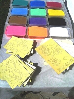20 FUN Coloured Sand Art KIT for Children party, fundraising, fete, gift