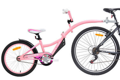 Pacific Tag A Long Bike Trailer Pink