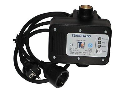 teknopress with Cable Pump Control Pressure Switch Made in Italy