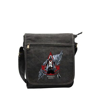 Assassin's Creed AC5 rotes Wappen Umhängetasche
