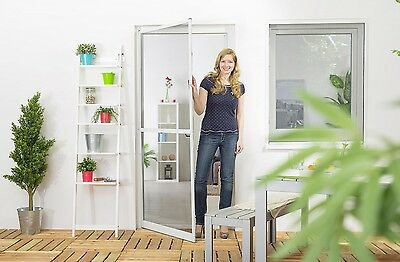 Insect Protection Fly Screen Door Aluminum frame PROFESSIONAL QUALITY SLIM