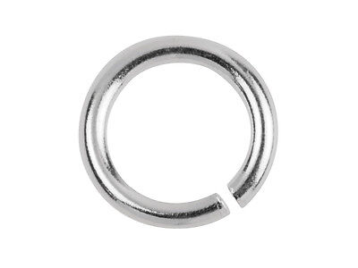 Silver Jump Rings 925  Round Open 3 4 5 6 7 8 9 10 mm - Best UK Findings