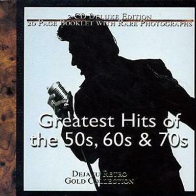Various Artists : Greatest Hits of the 50s, 60s & 70s CD 2 discs (1997)