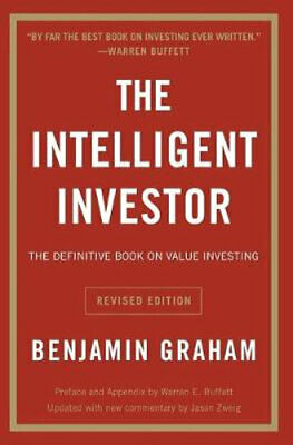 NEW The Intelligent Investor By Benjamin Graham Paperback Free Shipping