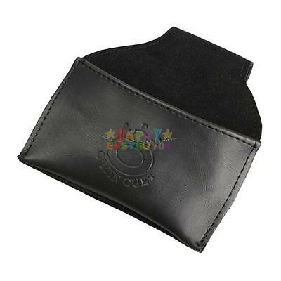 New Leather Chalk Holder Pouch with Clip Pool Billiards Snooker Cue