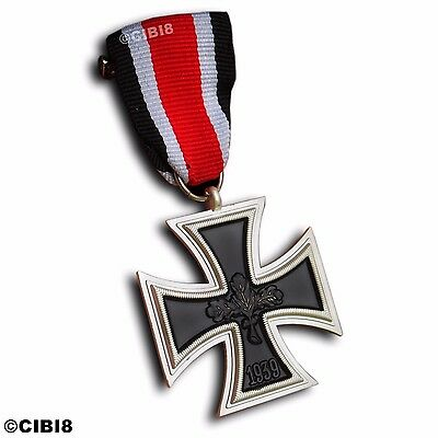 Iron Cross Medal 1939 Ww2 2Nd Class Antique Repro Military Award Army Germany
