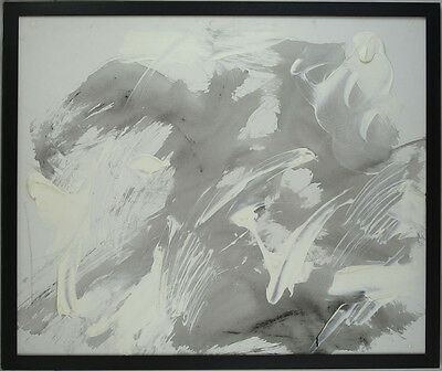George Loranger (1931-1993) Canadian Listed Original Oil on Canvas Abstract qqoo