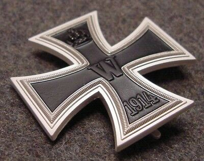 German Wwi Imperial / Prussian Iron Cross First Class  1914 - Reproduction