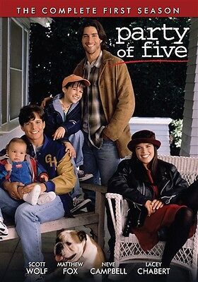 PARTY OF FIVE COMPLETE FIRST SEASON 1 Sealed New 4 DVD Set