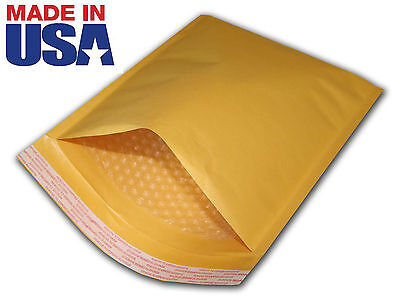 "250 for CD 7.25x8  Kraft Bubble Mailers Padded Shipping Envelop ENJP 7.25""x8"""