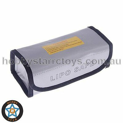 LiPo And NiMH Large Fire Resistant Safe Guard Battery Case Bag