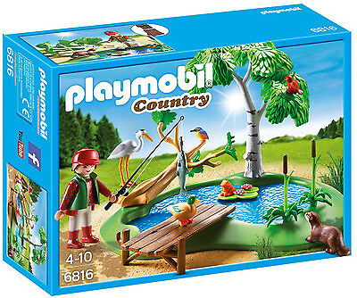 Playmobil - Country - 6816 - Angelteich - NEU OVP