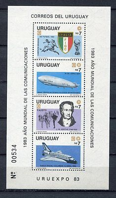 s5896) URUGUAY 1983 MNH** WC Football'82 - CM Calcio S/S WINNERS