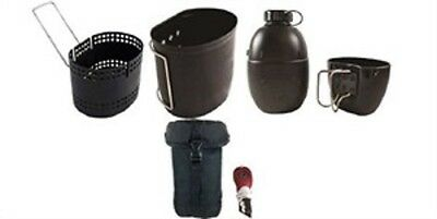 Bcb Cn014B Crusader Mk Ii Cooking System 6Pc Set With Black Pouch