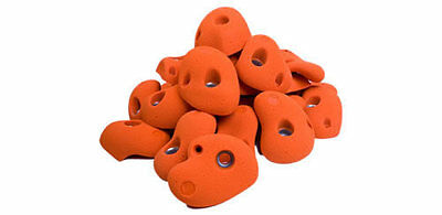 30 Mini Jug Climbing Holds. Children's Climbing Holds