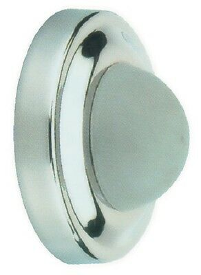 Satin Stainless Steel Wall Mounted Door Stop Rubber Bumper Protector