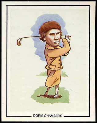 Doris Chambers #9 Golfing Greats Golf Card (C67)