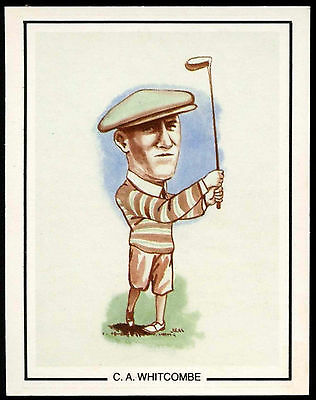 C . A. Whitcombe #13 Golfing Greats Golf Card (C67)