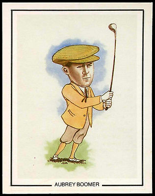 Aubrey Boomer #15 Golfing Greats Golf Card (C67)