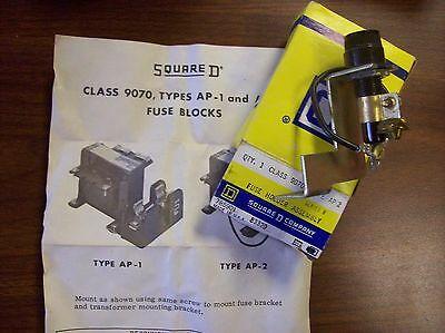 Square 'D' #9070-AP-2, FUSE HOLDER ASSEMBLY, SERIES B, (NEW)