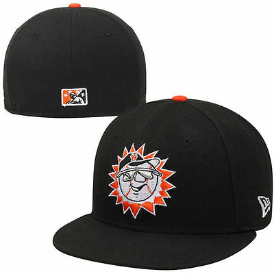 New Era Hagerstown Suns Minor League 59FIFTY Fitted Hat - Black - MiLB