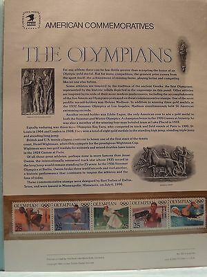 The Olympians American Commemorative Stamps
