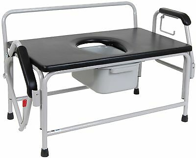 Extra Large Bariatric Commode by Drive, 1000lb Capacity
