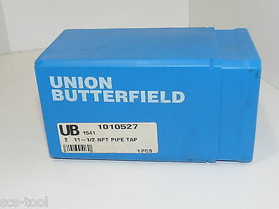 Union Butterfield 1010527 HSS 2 in Pipe Tap 2-11.5 NPT  Made in USA