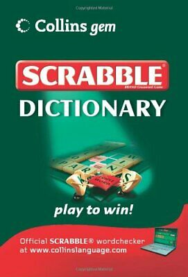 Scrabble Dictionary (Collins Gem) by VARIOUS Paperback Book The Cheap Fast Free