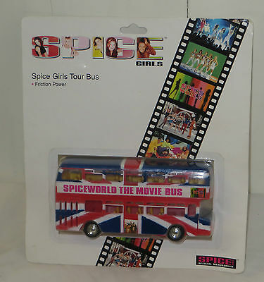 Spice Girls Tour Bus. Spiceworld The Movie Bus. New. 1997. Official Merchandise
