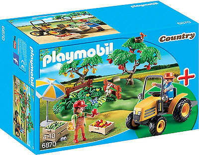 Playmobil - Country - 6870 - StarterSet Obsternte - NEU OVP