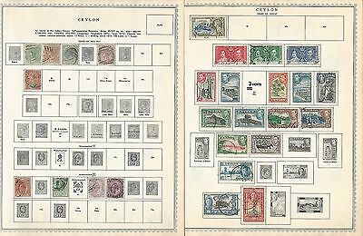 Ceylon & Chad Collection on Minkus Pages, Nice Lot To Pick Through