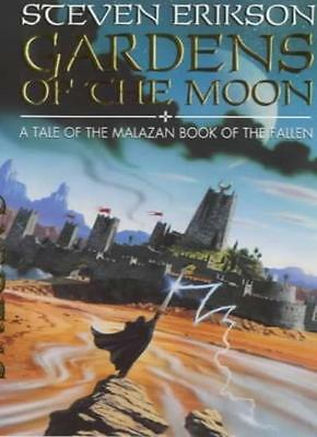 Gardens of the Moon (Malazan Book of the Fallen) By Steven Erikson,Neil Gower
