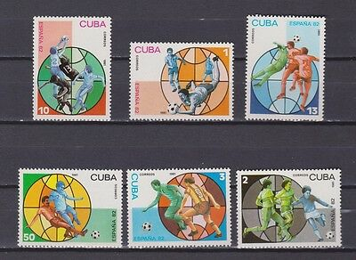 s5647) 1982 MNH** WC Football'82 - CM Calcio 6v.
