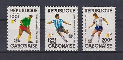 s5669) GABON 1982 MNH** WC Football'82- CM Calcio 3v
