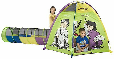 Pacific Play Tents When I Grow Up Play Combo Tunnel