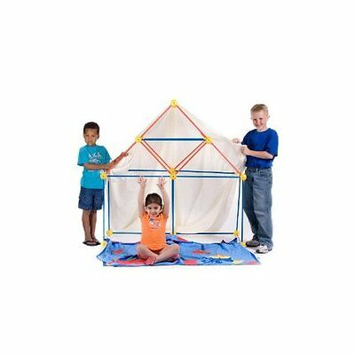 TooBeez EZ Fort 54 Piece Building Kit Play Tent