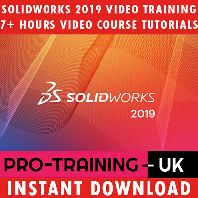 SolidWorks 2019 – Professional Video Training Tutorial 7+ Hrs - Instant Download
