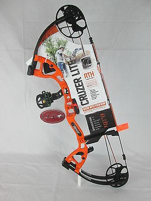 Bear Archery Cruzer Lite Compound Bow Package Gloss Orange Right hand