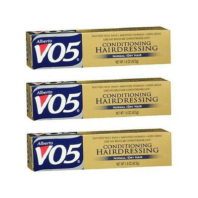 Alberto VO5 Conditioning Hairdressing for Normal/Dry Hair - 1.5 oz (Pack of 3)