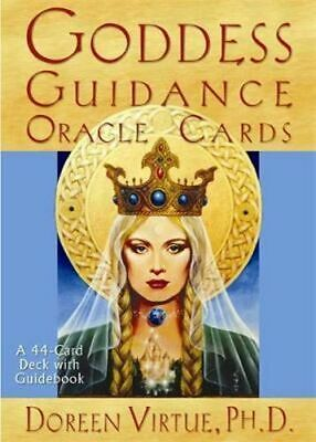 NEW Goddess Guidance Oracle Cards By Doreen Virtue Card or Card Deck