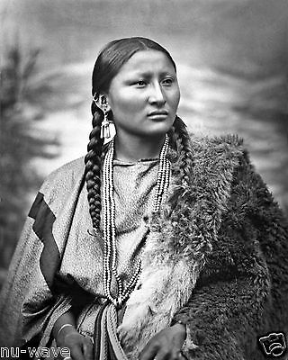 1879 Photo Woman War Chief Pretty Nose Participated in battle of Little Big Horn